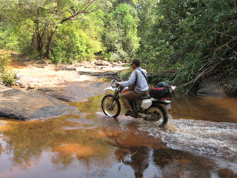 South East Asia by motorbike