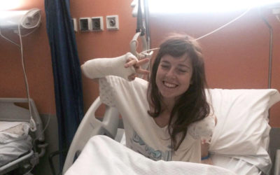 13 things I learned from breaking a leg (and a wrist)